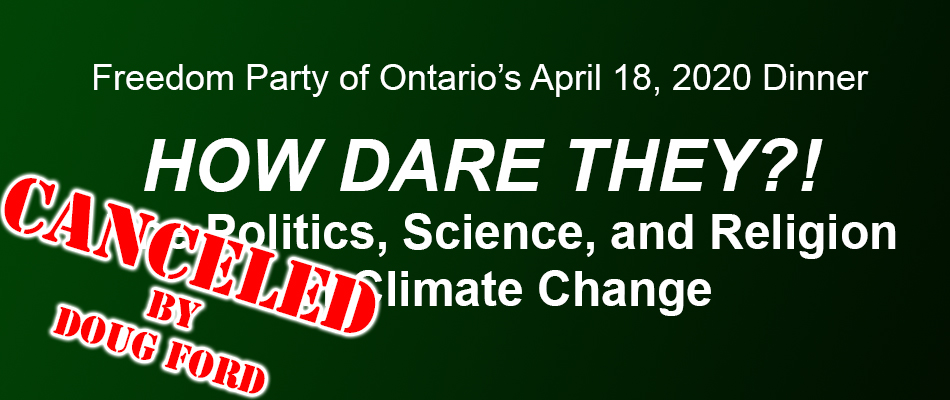 CANCELED by DOUG FORD