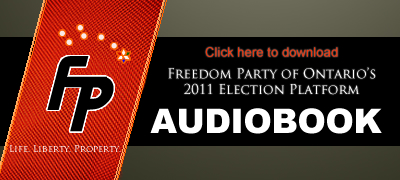 Download Freedom Party of Ontario's 2011 Election Platform as an iTunes Audiobook