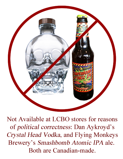 Products the LCBO won't sell