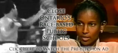 FPO video ad: Close Ontario's Race-based Schools