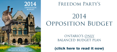 Read FPO's plan for a balanced Ontario budget in 2014